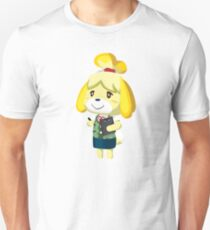 Isabelle Animal Crossing New Leaf Vector Print T-Shirt