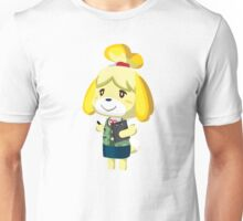 Isabelle Animal Crossing New Leaf Vector Print Unisex T-Shirt