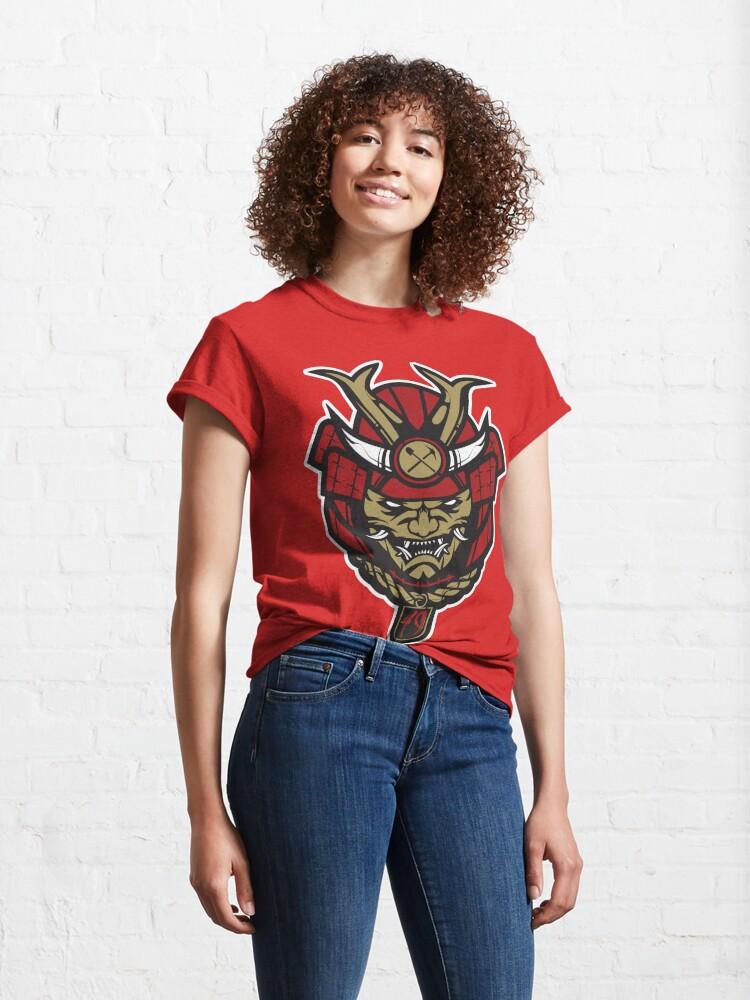 Alternate view of San Francisco Samurai Football Classic T-Shirt