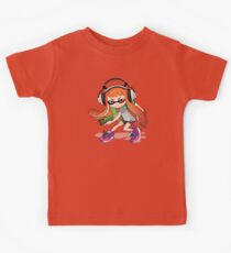 Splatoon Squid kid Nintendo Print Kids Clothes