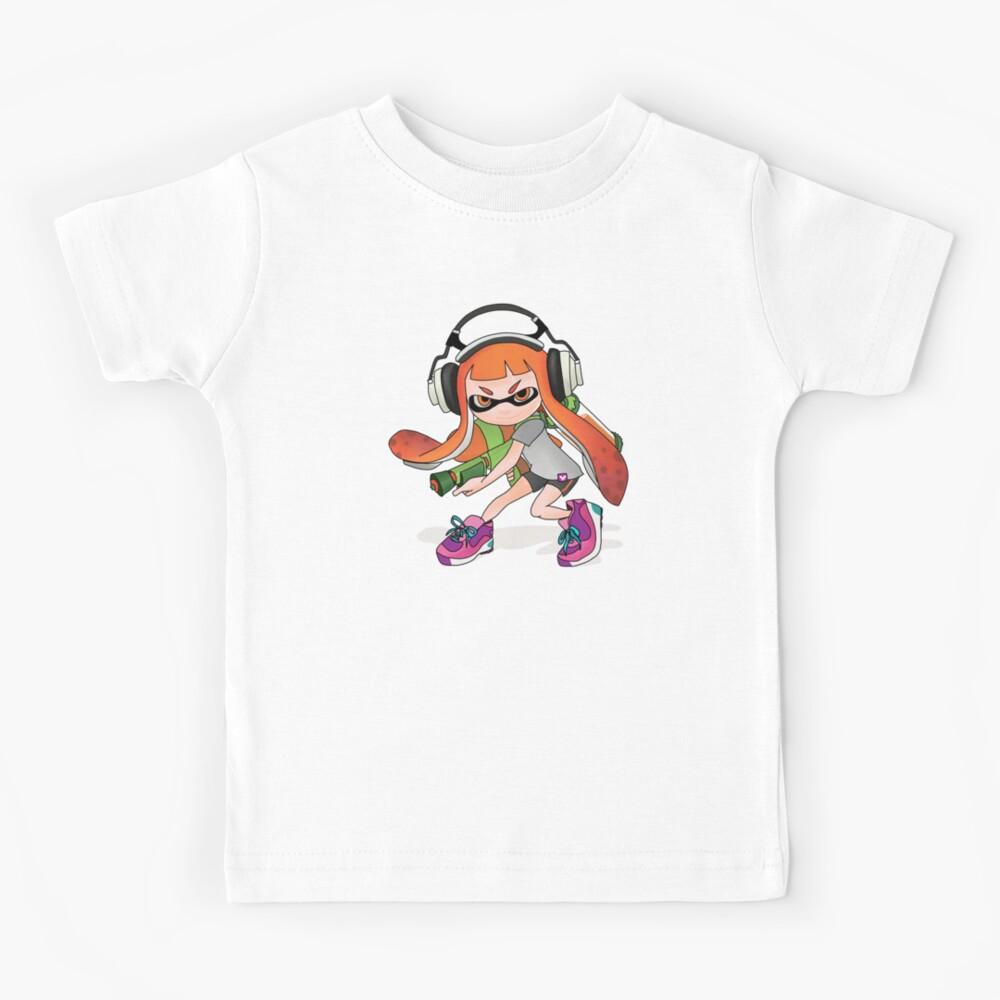 Splatoon Squid kid Nintendo Print Kids T-Shirt