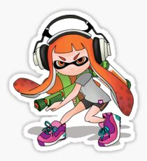 Splatoon Squid kid Nintendo Print Sticker