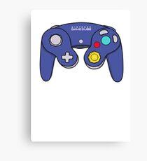 Nintendo Gamecube Controller Design Canvas Print
