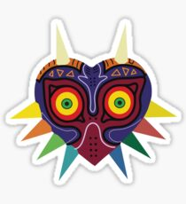 Majoras Mask Vector Print Zelda Sticker