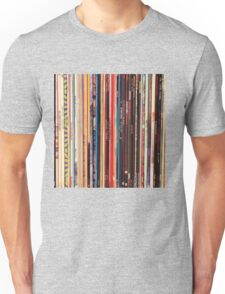 Vinyl Records Indie Rock  Unisex T-Shirt