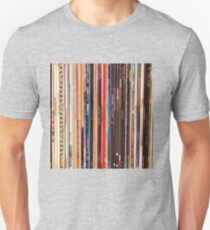 Vinyl Records Indie Rock  Unisex T-Shirt