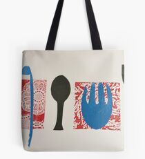 Kitchen Implements Tote Bag