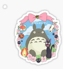 Studio Ghibli Design Sticker