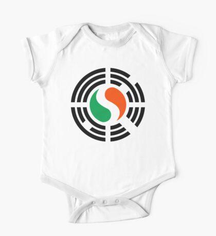 Korean Irish Multinational Patriot Flag Series Kids Clothes