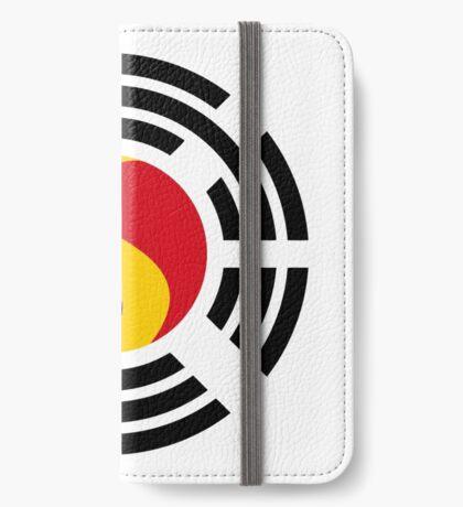 Korean Romanian Multinational Patriot Flag Series iPhone Wallet