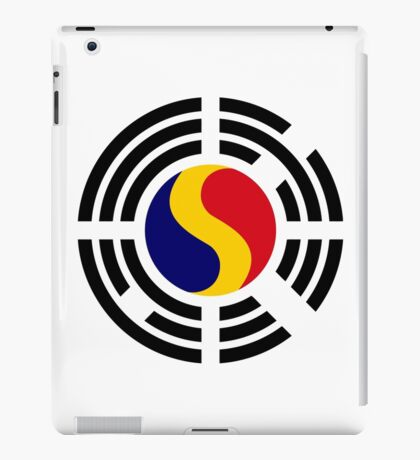 Korean Romanian Multinational Patriot Flag Series iPad Case/Skin