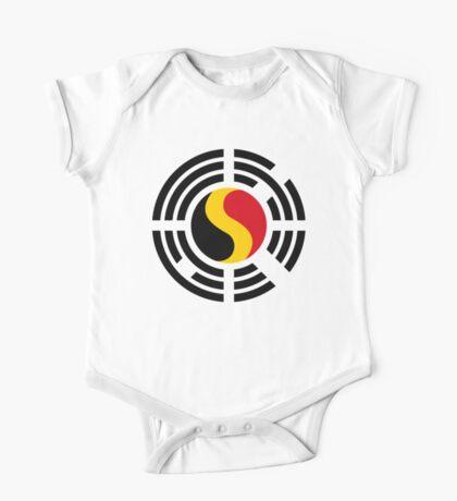 Korean Belgian Multinational Patriot Flag Series Kids Clothes