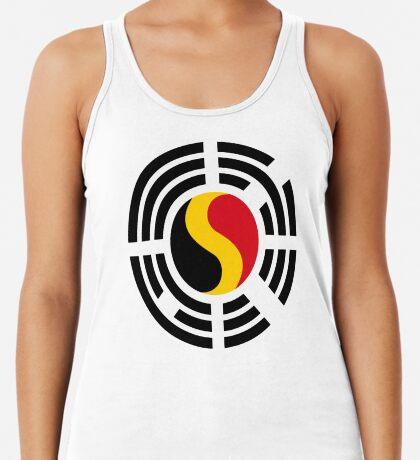 Korean Belgian Multinational Patriot Flag Series T-Shirt