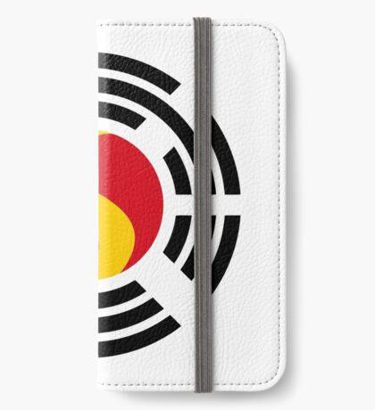 Korean Belgian Multinational Patriot Flag Series iPhone Wallet