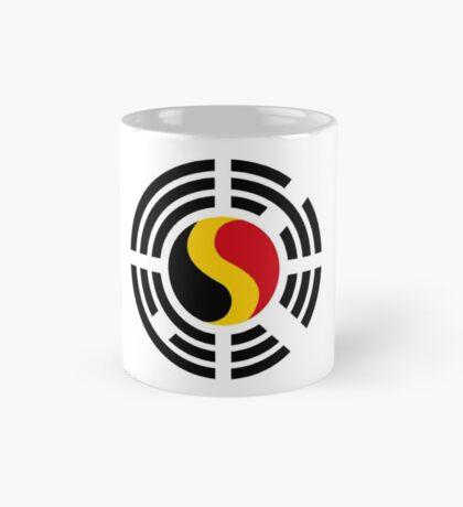 Korean Belgian Multinational Patriot Flag Series Mug