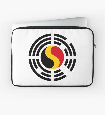 Korean Belgian Multinational Patriot Flag Series Laptop Sleeve