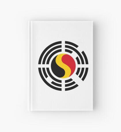 Korean Belgian Multinational Patriot Flag Series Hardcover Journal