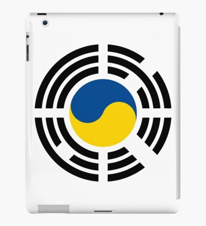 Korean Ukrainian Multinational Patriot Flag Series iPad Case/Skin