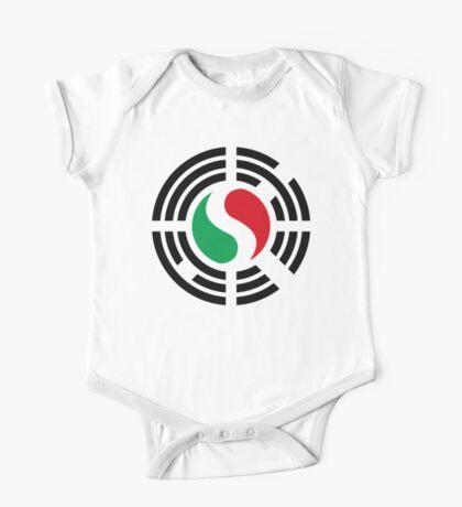 Korean Italian Multinational Patriot Flag Series Kids Clothes