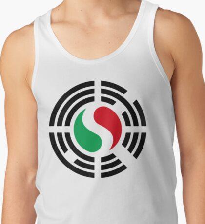 Korean Italian Multinational Patriot Flag Series T-Shirt