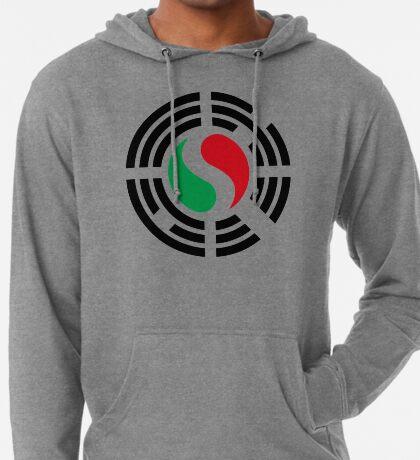 Korean Italian Multinational Patriot Flag Series Lightweight Hoodie
