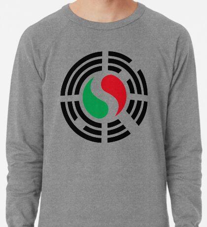 Korean Italian Multinational Patriot Flag Series Lightweight Sweatshirt
