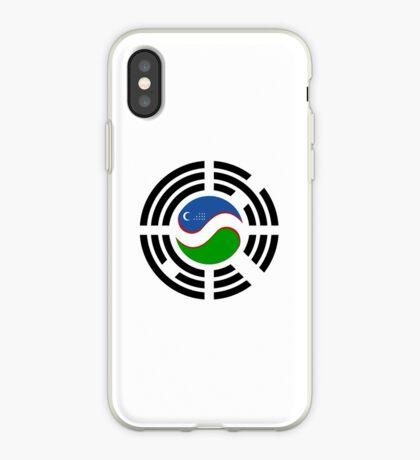 Korean Uzbeki Multinational Patriot Flag Series iPhone Case