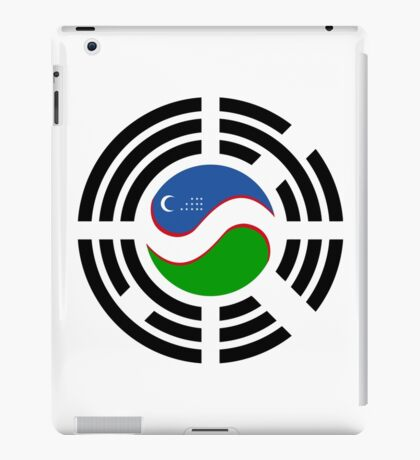Korean Uzbeki Multinational Patriot Flag Series iPad Case/Skin