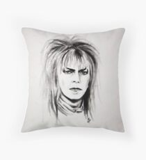 Jareth ~ The Goblin King Throw Pillow
