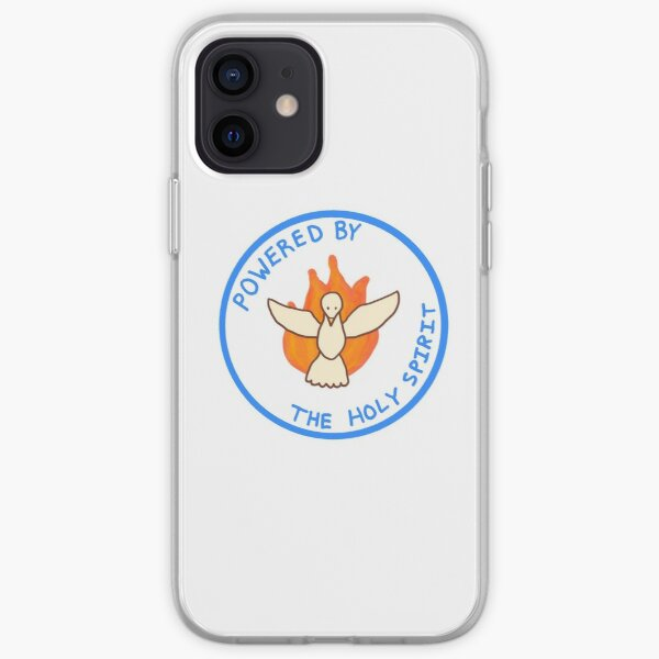 Powered by the Holy Spirit iPhone Soft Case