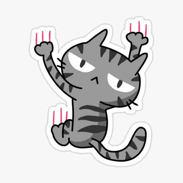 Climbing Cat Sticker