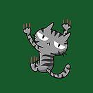 Climbing Cat by zachsymartsy
