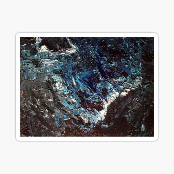 The Eroding Bluff —Hannibal Sticker