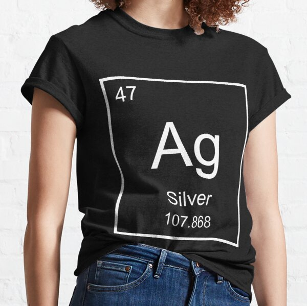 Raise your hand if you love Silver, aka Ag! Classic T-Shirt