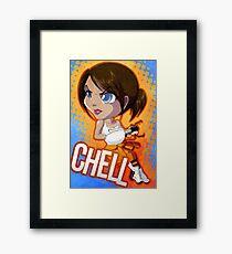 Portal: Chell Framed Print