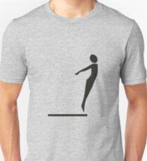 Sport swimming jumping T-Shirt