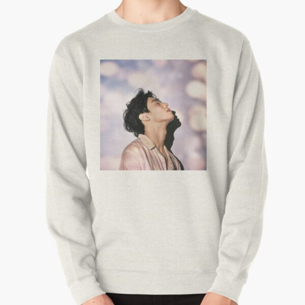 Cha Eun Woo Aesthetic Pullover Sweatshirt