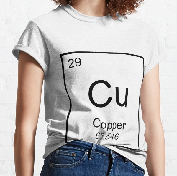 Copper!  #29 on the Periodic Table of Elements. 29 Forever!  Classic T-Shirt