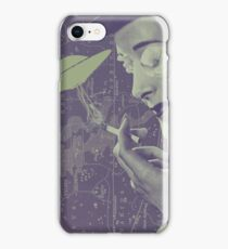 The Cigarette Smoking Woman iPhone Case/Skin