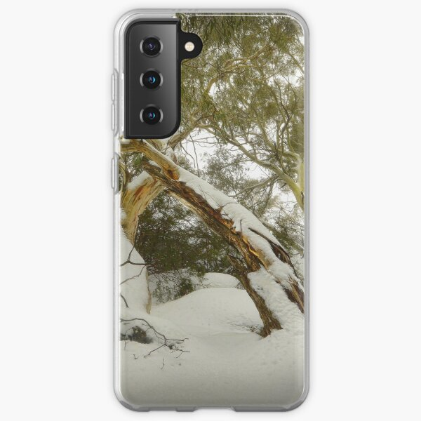 Eucalypts in snow, Mt. Buffalo Samsung Galaxy Soft Case