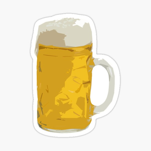 Chope à Biere Sticker