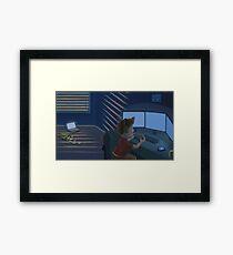 Video Gamer Framed Print