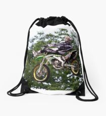 Time To Relax Drawstring Bag