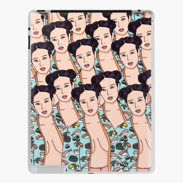 Japanese Sushi Kimono iPad Skin