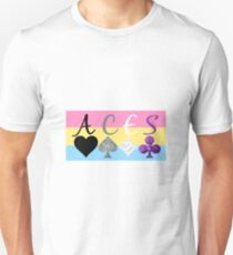 ACES on Panromantic flag T-Shirt