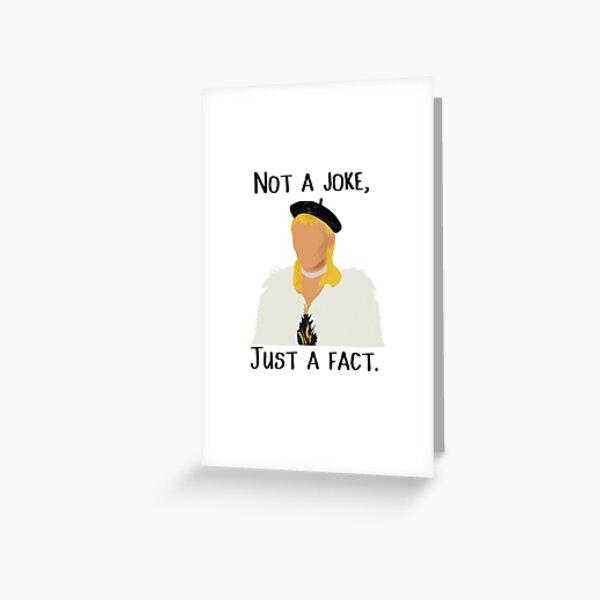Bimini Bon Boulash Zitat - RuPaul's Drag Race UK Grußkarte
