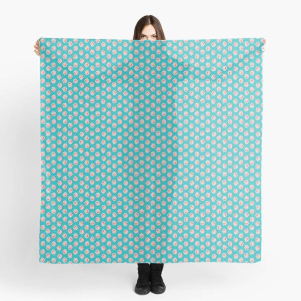 Floral Home Wattle Teal Scarf