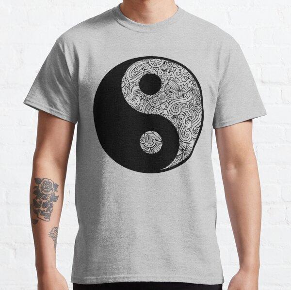 Yin Yang Peace Swirls Classic T-Shirt