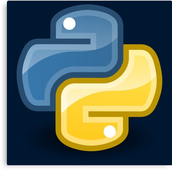 Python logo by UnitShifter