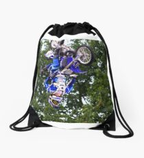Which Way Is Up? Drawstring Bag